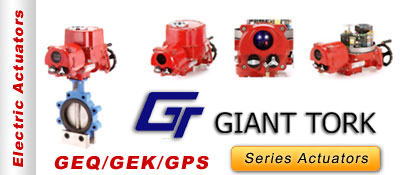 Giant Tork Series Actuators